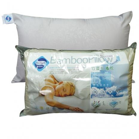 《GALATEA》山寧泰防蹣抗菌系列竹炭枕