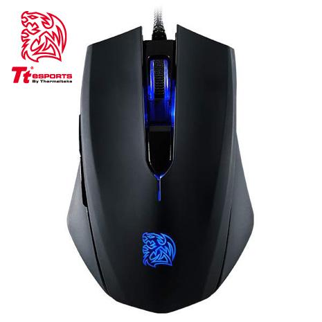 Tt eSPORTS 塔龍Blu 藍光 左右手通用 電競滑鼠