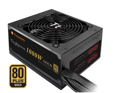 Thermaltake曜越 Toughpower 1000W 80 PLUS Gold日系電容電源供應器