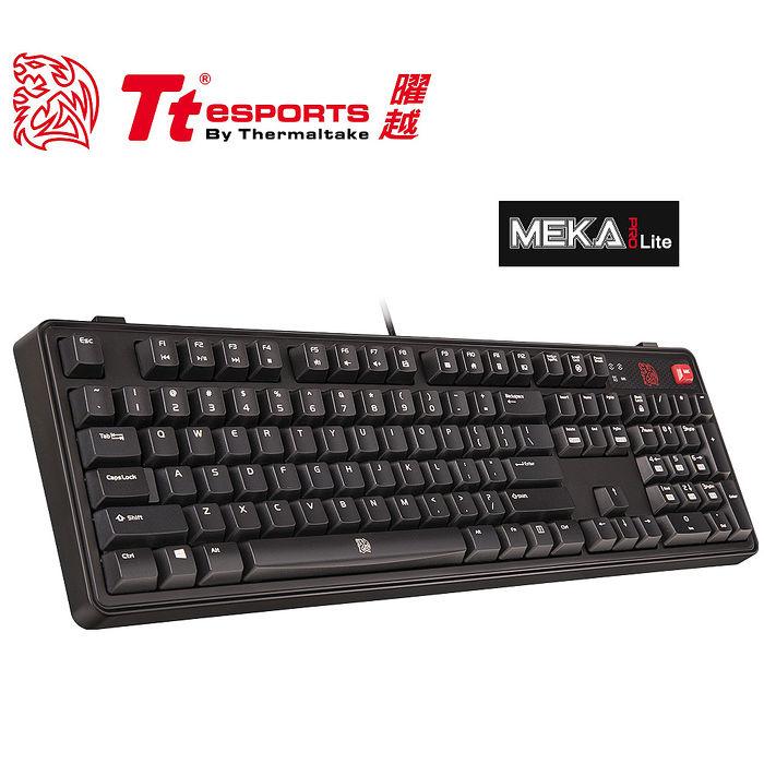 Tt eSPORTS 拓荒者 MEKA PRO LITE專業無背光版青軸機械鍵盤KB-MGP-BLBNTC-01