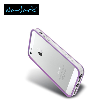 Navjack Trim Series iPhone5/5S保護框-丁香紫-手機平板配件-myfone購物