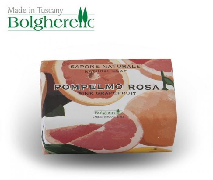 【Bolgherello 柏莉歐】天然精油手工香氛皂100g~鮮甜紅柚