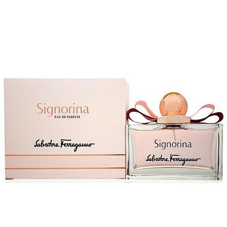 SALVATORE FERRAGAMO 費洛加蒙 SIGNORINA 芭蕾女伶 女性淡香水 100ml-美妝‧保養‧香氛‧精品-myfone購物
