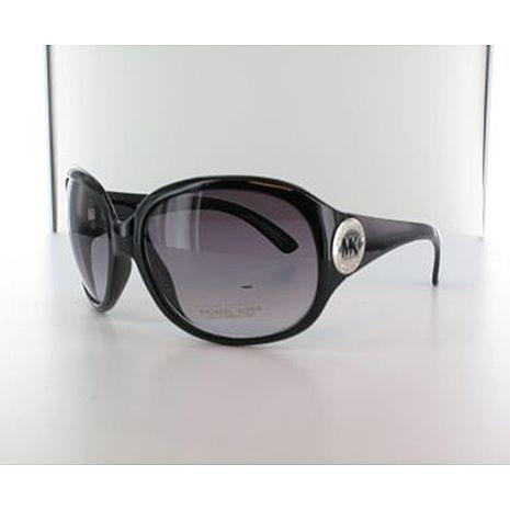 Michael Kors 時尚LOGO太陽眼鏡-黑粗鏡架