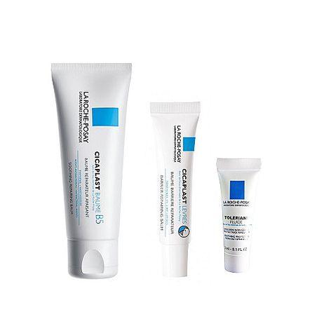 理膚寶水 全面修復霜 100ml+全面修護潤唇膏 7.5ml+多容安濕潤乳液3ml 特賣