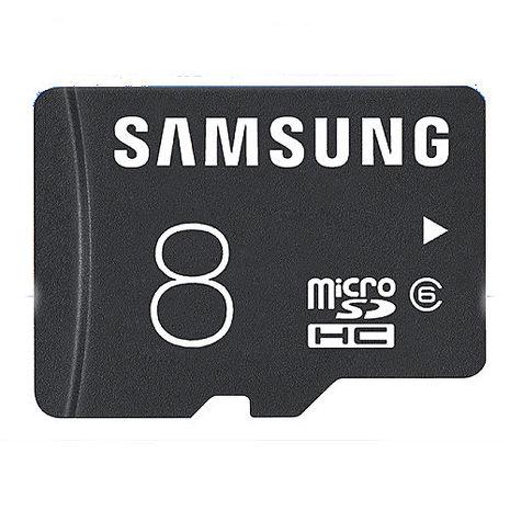 SAMSUNG microSDHC T-Flash 8GB Class6 記憶卡-3C電腦週邊-myfone購物