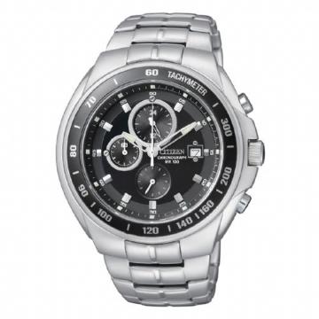 CITIZEN 三眼計時腕錶 AN4010-57E