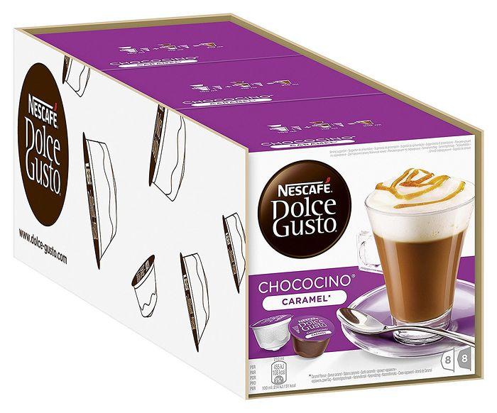 (買一送一)雀巢 Dolce Gusto 焦糖巧克力歐蕾 膠囊( Choco Caramel )(短效期,2017/10/31)