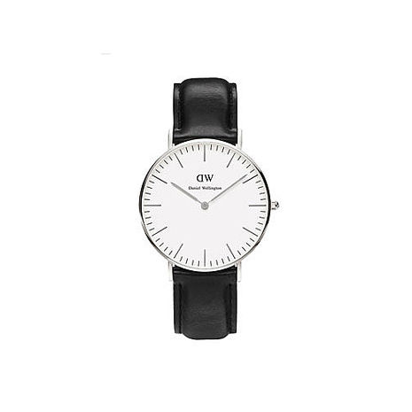 【公司貨】Daniel Wellington DW 簡約時尚風格 36mm/日本機芯/復古/真皮 DW00100053