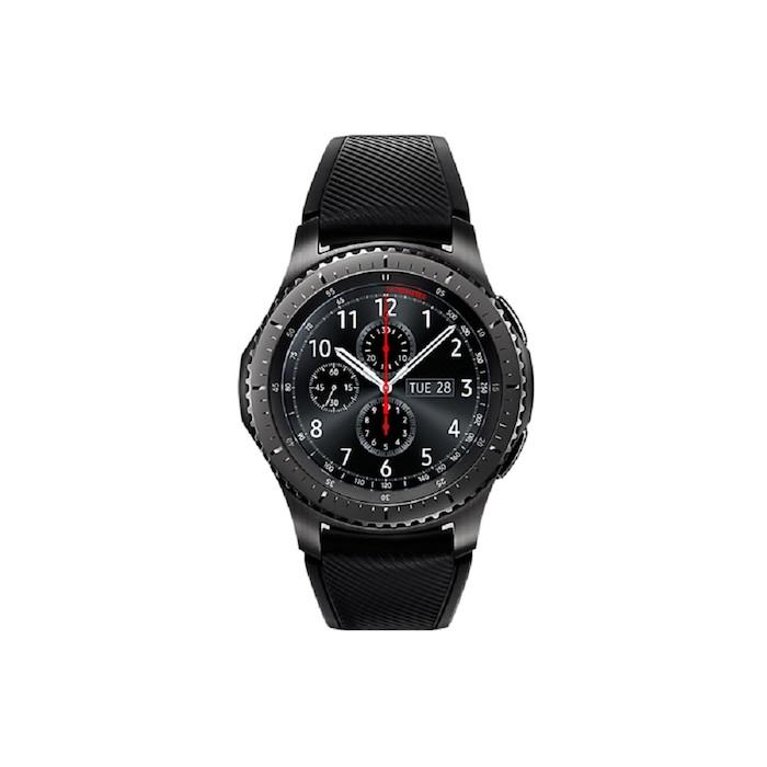 Samsung Gear S3 Frontier 藍芽手錶(橡膠錶帶)-手機平板配件-myfone購物