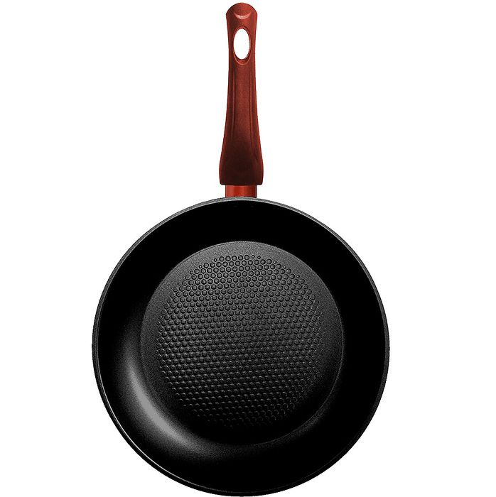 【Bialetti】義大利 平底鍋-紅色28cm