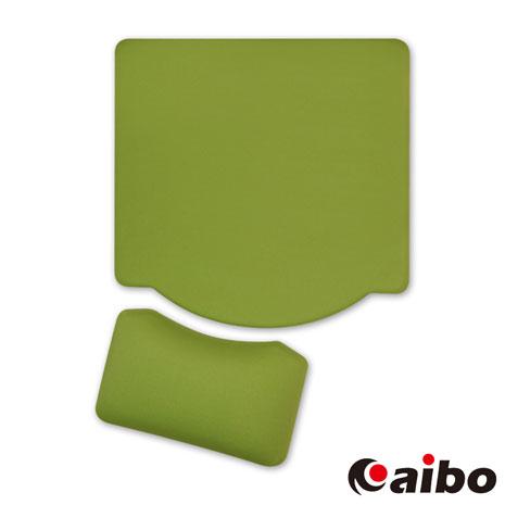 aibo MA-25 分離式矽膠護腕鼠墊-綠色