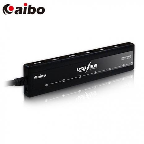 aibo H32 USB3.0 獨立開關 7PORT HUB 集線器