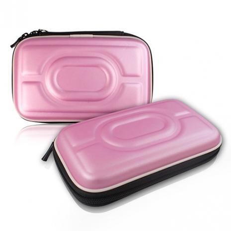 行動電源/3C配件 耐衝擊防護收納包 - 粉紅