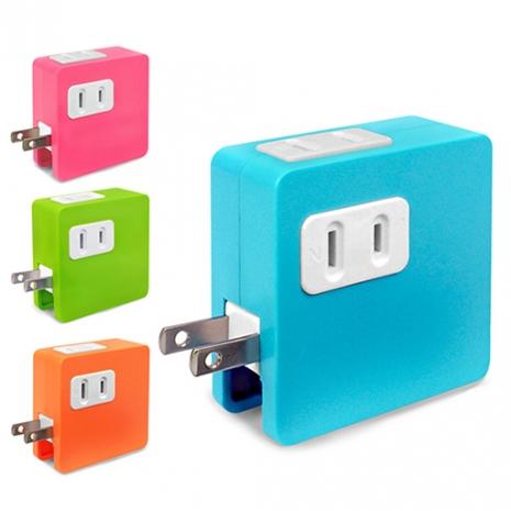 炫彩 SD-22U 2孔插座x2+雙USB埠 15A分接式插座-3C電腦週邊-myfone購物
