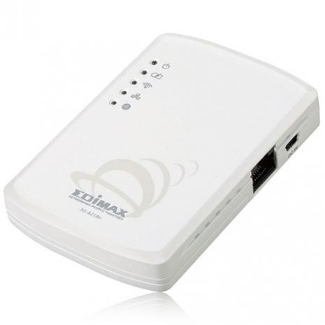 EDIMAX 訊舟 3G-6218n 攜帶型全功能無線網路寬頻分享器