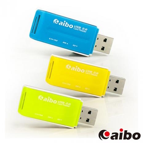aibo Y013 精緻多彩多合一記憶卡讀卡機-3C電腦週邊-myfone購物