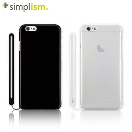 【福利品特賣】Simplism iPhone6 4.7吋 超薄0.7mm保護殼組-手機平板配件-myfone購物