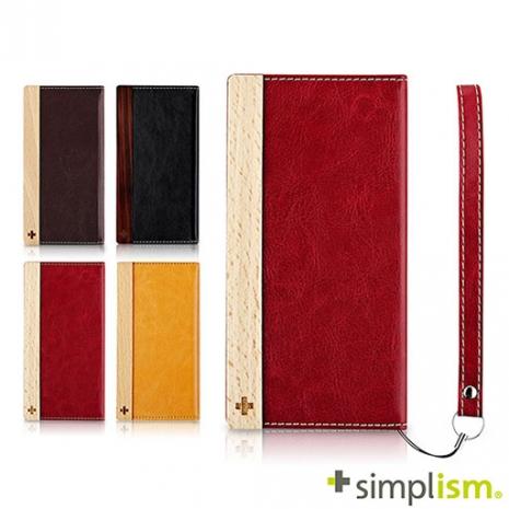 【福利品特賣】Simplism iPhone 6 Plus 側開掀蓋式皮革保護套-手機平板配件-myfone購物