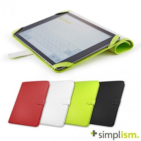 【福利品特賣】Simplism iPad Air2 超輕量側掀皮革保護套