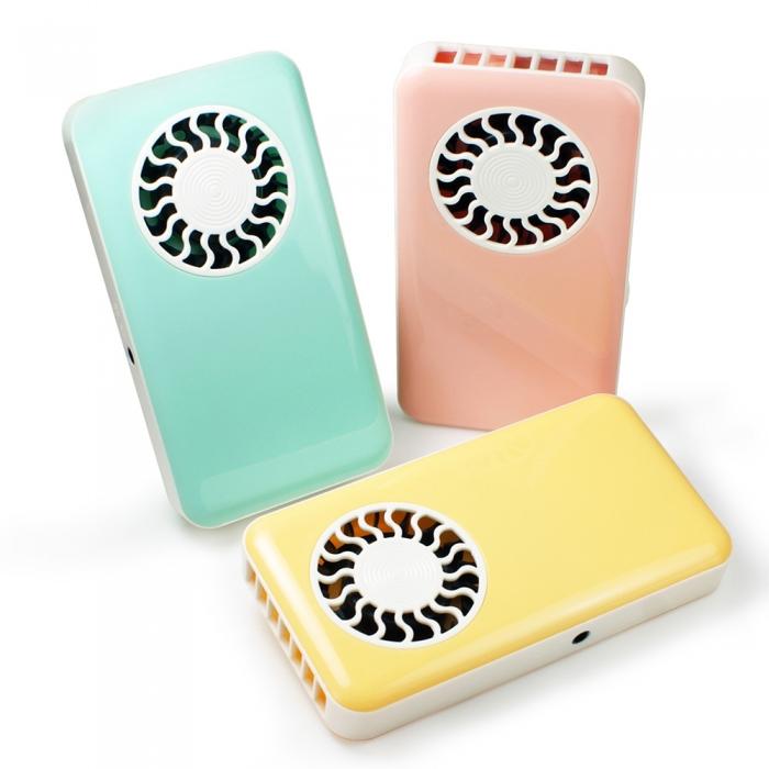 薄型攜帶式 USB充電無葉涼風扇(FAN-30)