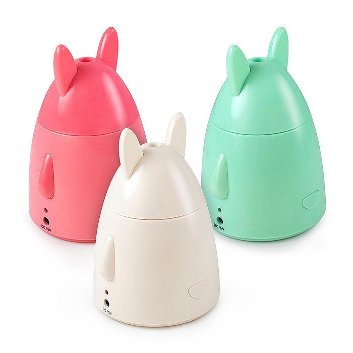 蘋果兔 USB迷你加濕器白色