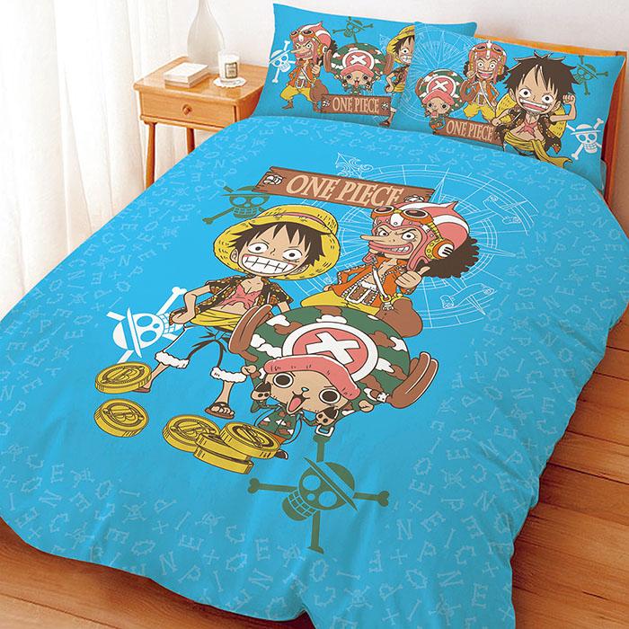 【享夢城堡】單人床包涼被組-航海王 尋寶之路系列