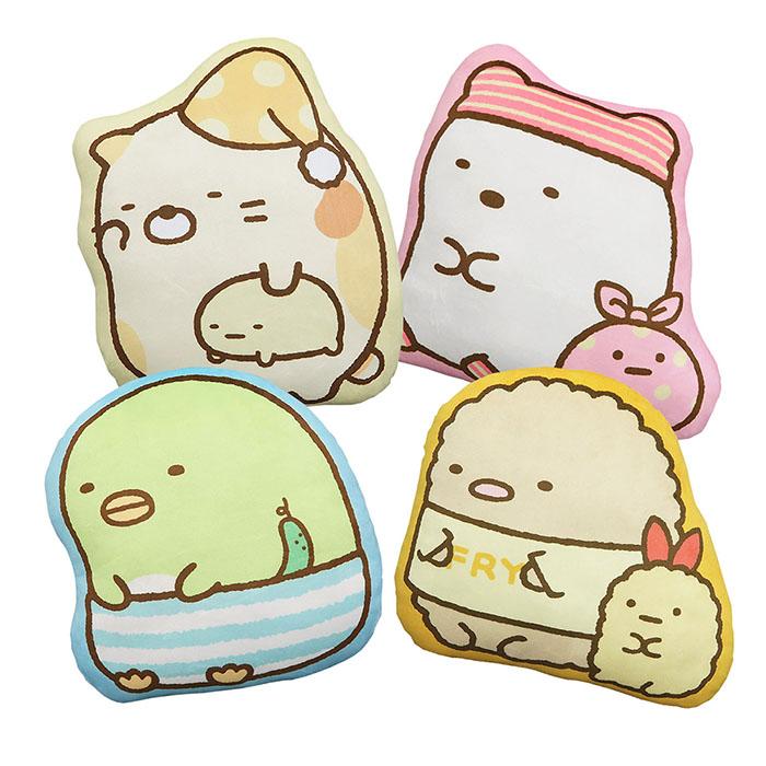 【享夢城堡】角落小夥伴 12吋造型抱枕貓咪