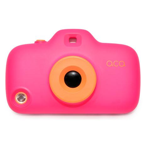 ACA玩心大悅iPhone5相機濾鏡組保護殼-桃紅