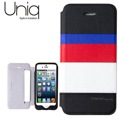 Uniq March系列iPhone5/5S真皮皮套-倫敦之心