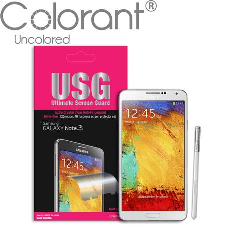 Colorant USG系列 Galaxy Note3螢幕保護貼