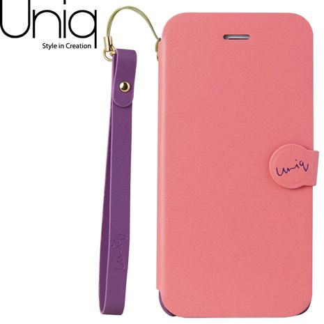 Uniq Lolita iPhone 6/6s皮套(附手腕繩)-粉紅