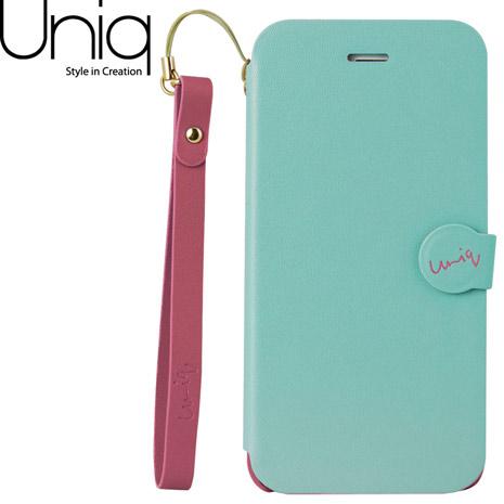 Uniq Lolita iPhone 6/6s皮套(附手腕繩)-粉綠
