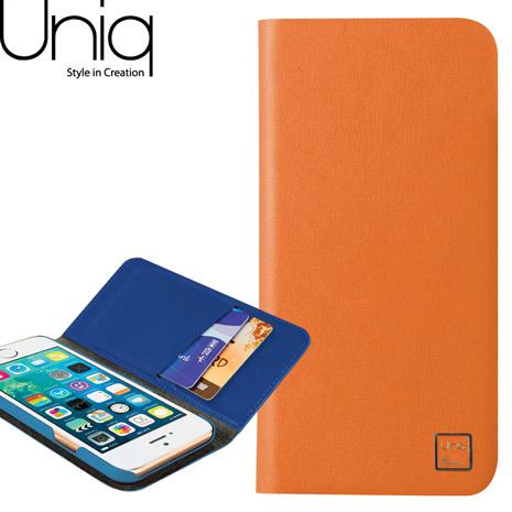 Uniq 樂事系列 iPhone 6/6s真皮皮套-橘