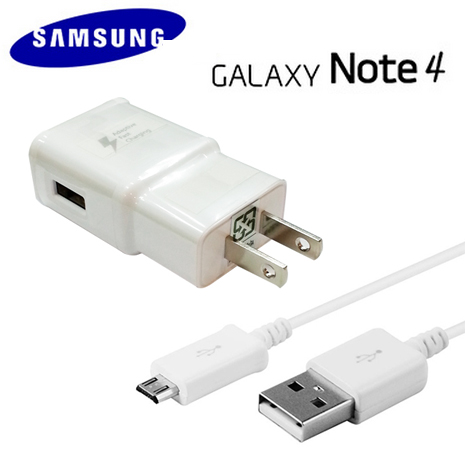 【三星原廠】Samsung Galaxy Note4 / Note5 / S6 / S6 Edge / S7 閃電旅充組《旅充頭 + 1米傳輸線》