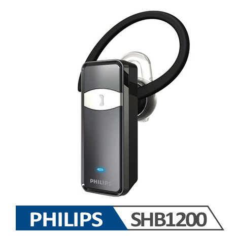 【PHILIPS 飛利浦】 單聲道藍牙耳機 SHB1200