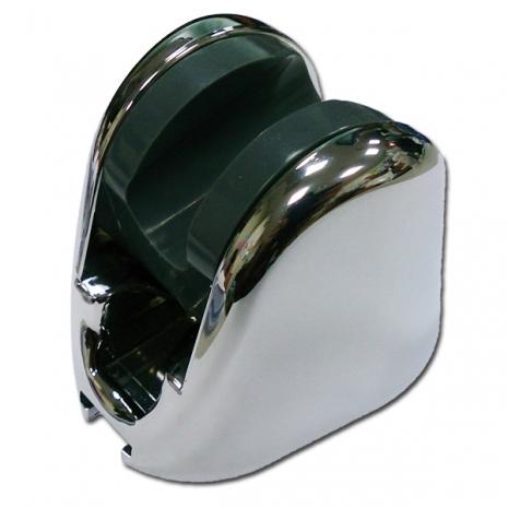 春佰億《魔特萊》免鑽孔專利10段可調角度蓮蓬頭掛鉤〈銀2入〉