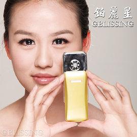 《鉑麗星》噴霧保濕美顏機-手持式手機型美容霧化機) 珍珠白1入)-促銷