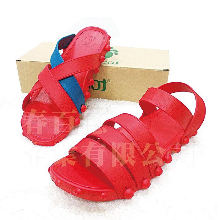 時尚拖鞋 韓國原裝製造 涼鞋 (1雙) 涼鞋 拖鞋 沙灘鞋-特賣