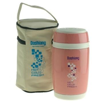 《日本Dashiang大相》真水不鏽鋼真空保溫食物罐0.58L