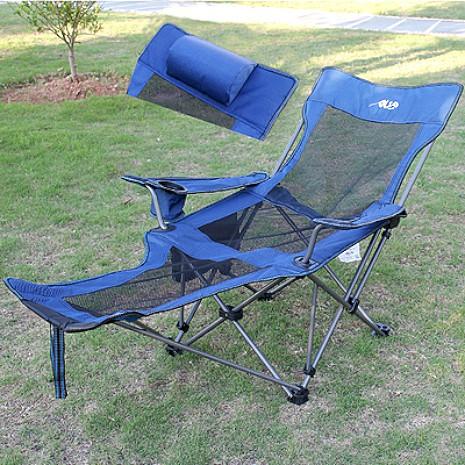 探險職人 露營用折疊翹腳躺椅