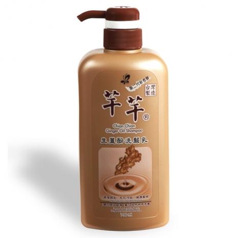 芊芊生薑酚洗髮乳二代3入/組