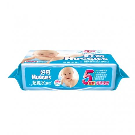 好奇純水嬰兒濕巾厚型(80抽X3包)X6/箱