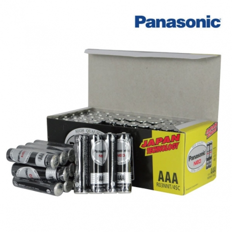 Panasonic 國際牌 黑錳乾電池 4號電池(AAA) 超值60入/盒