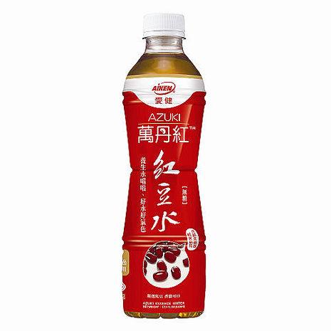愛健 萬丹紅 紅豆水 530mlx24瓶/箱