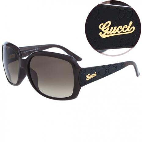 GUCCI-時尚太陽眼鏡李冰冰代言(咖啡色)(特賣)