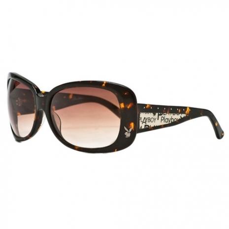 PLAYBOY-時尚太陽眼鏡(琥珀色)