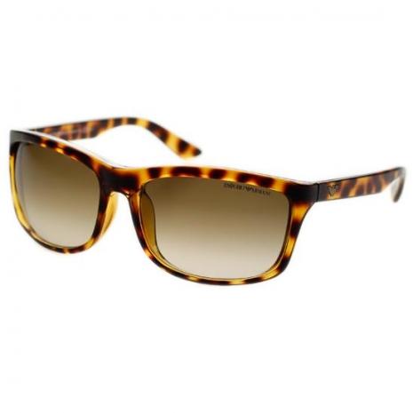 EMPORIO ARMANI-時尚太陽眼鏡(琥珀色)