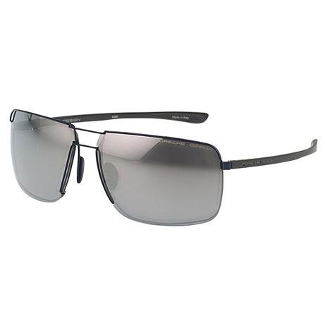 Porsche Designs 保時捷- 太陽眼鏡(黑色+水銀反光鏡片)