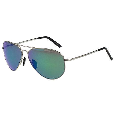 Porsche Designs 保時捷- 太陽眼鏡(銀色)-服飾‧鞋包‧內著‧手錶-myfone購物